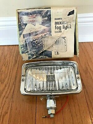 Nos Sears Japan Quartz Auxiliary Clear Fog Driving Lamp Light Datsun Toyota Vw