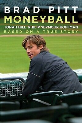 Moneyball - DVD DISC ONLY - no case - An awesome baseball movie