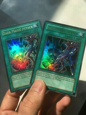 Yu-Gi-Oh! 2x Dark Magic Attack VLP-Near Mint 1st Edition AST-095