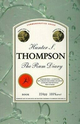 The Rum Diary by Hunter S. Thompson (Paperback, 1999) Now a Johnny Depp film