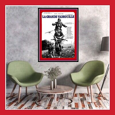 Toile Affiche Cinema Film Poster Photo La Grande Vadrouille Bourvil De Funes Dvd