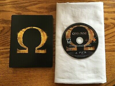 God of War Ascension Collectors Edition (SteelBook Case) (PS3) Free Shipping!