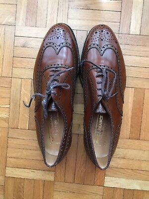 6f7695d053b49c Superbes chaussures cuir H Oxford Brogues cousu Goodyear pointure UK 8,5