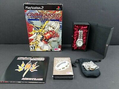 """Growlanser Generations Deluxe Edition PS2 Rare Working Designs """"No Game"""" Watch"""