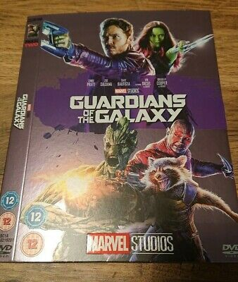 Marvel O-Ring GUARDIANS OF THE GALAXY DVD sleeve (no disc/case/movie)