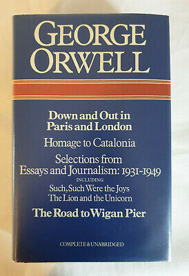 Selected Works, volume 2 (Non Fiction) by George Orwell (Hardback 1980)