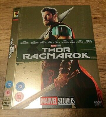 Marvel O-Ring THOR RAGNAROK DVD sleeve (no disc/case/movie)