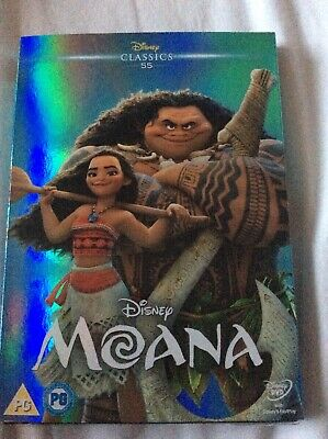 Disneys Moana Dvd Sleeve