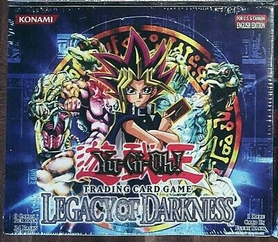 Yu-Gi-Oh! Legacy of Darkness Booster Box 24 Unlimited English Top Condition