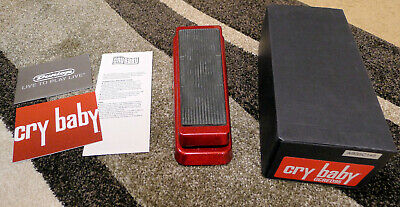 Dunlop Cry Baby Wah Guitar Effect Pedal GCRED95 GCB95 complete box papers