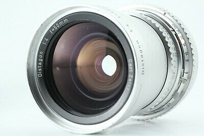 [Exc+++ condition] Hasselblad Carl Zeiss Distagon C 50mm f/4 Silver From Japan