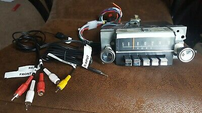 1967 Ford Mustang 7TPZ AM Radio Complete Conversion Radio AM FM-stereo Bluetooth