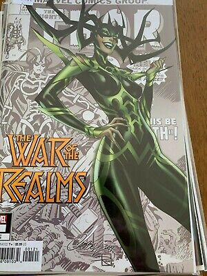 WAR OF THE REALMS 1 J SCOTT CAMPBELL VARIANT new