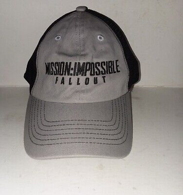 Mission Impossible Fallout Tom Cruise Cap NWT