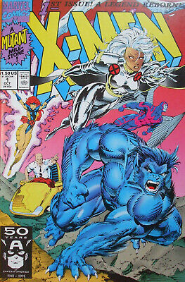 X-MEN  #1  ( 1st app. Acolytes Team ) 1991 Marvel comics Jim Lee ... NM+