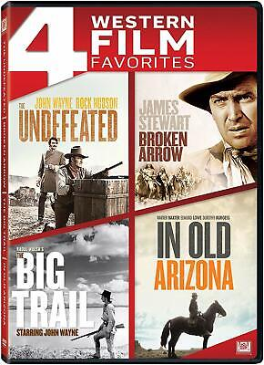 The Undefeated - Broken Arrow + The Big Trail + In Old Arizona *****New Dvd****