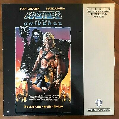 MASTERS OF THE UNIVERSE Laserdisc LD [37073] Dolph Lundgren