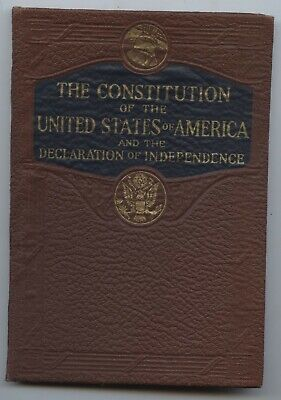 C. 1940 - The Constitution Of The United States & Declaration Of Independence