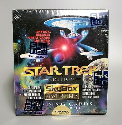 1993 Star Trek Edition SkyBox Master Series 90 Trading Cards – Factory Sealed