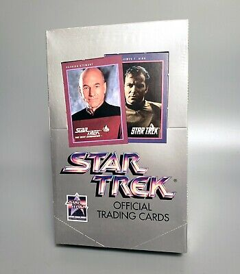 1991 Star Trek Official Trading Cards Series I, TOS TNG – Factory Sealed – Impel