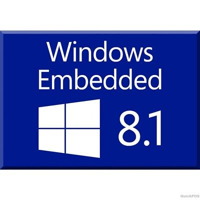 Windows 8.1 Embedded Industry ISO 32/64bit English NO LICENSE KEY