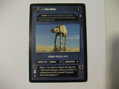 Star Wars CCG Special Edition Dune Walker Played Condition