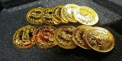 JOHN WICK CHALLENGE COIN CONTINENTAL HOTEL KEANU MOVIE coin 10pcs