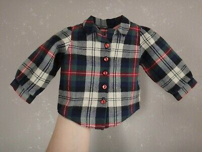 PLEASANT COMPANY American Girl Molly After School Outfit PLAID SHIRT (1992)