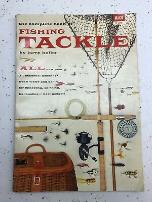 Vintage The Complete Book of Fishing Tackle +++more MACO Magazine 1955