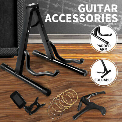 Metal Guitar Stands Floor Racks Electric Acoustic Bass Gig Holders Accessories