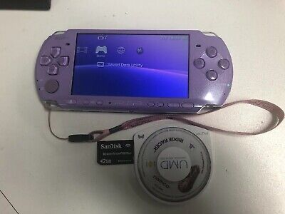 SONY PSP 3002 Limited Edition lilac Purple Console