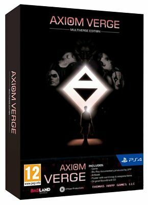 Axiom Verge Multiverse Edition PS4 Game New EU English