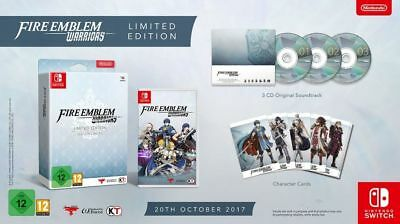 Fire Emblem Warriors Limited Edition New English Nintendo Switch Collector's