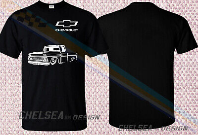 431620c9 New Chevy 1962 C10 Square Body T-Shirt Muscle Performance Classic Car 16Wm6