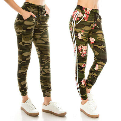 83b26628c4413 Women's Military Army Combat Camouflage Pant LOT Camo Cargo Trousers Long  Pants