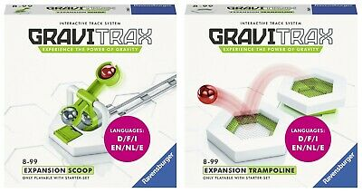 Ravensburger GRAVITRAX EXPANSION SCOOP + TRAMPOLINE - GraviTrax Expansion Pack