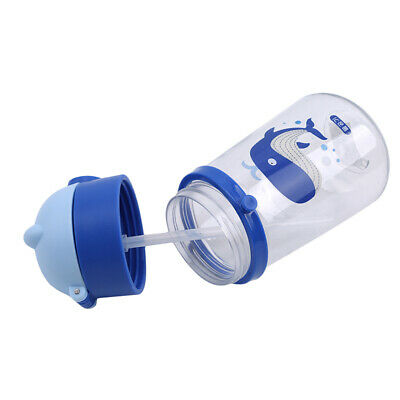 New Baby Learning Cup Leak-Proof Baby Straw Cup With Handle Kids Water Cup RD
