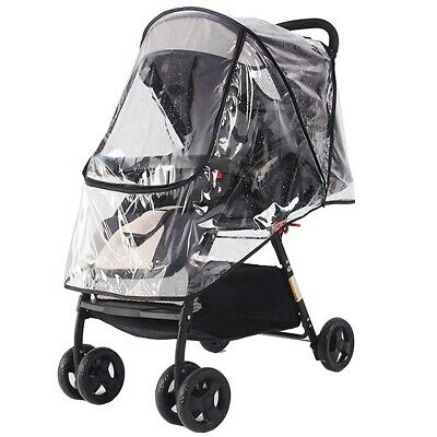 Stroller Rain Cover Universal, Baby Travel Weather Shield, Waterproof Windproof
