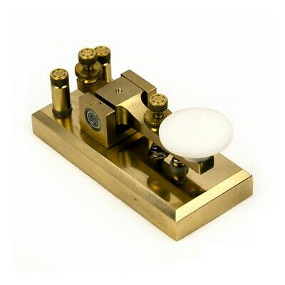 Z55CW CW Morse Key Brass Telegraph Key Plating Procedures for Short-ware Radio