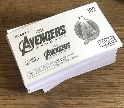 Marvel Avengers - Road To Endgame Panini Stickers - pick 10 from list