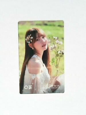 """K-POP GFRIEND 2ND ALBUM """"Time for us"""" Official YERIN Photocard"""