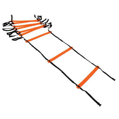 Precision 4m Agility Ladder Speed Fitness Football Exercise Training Sport