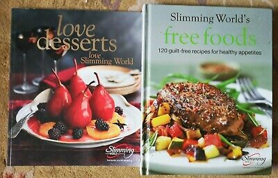 Slimming World Love Desserts & Free Foods guilt free for healthy eaters book