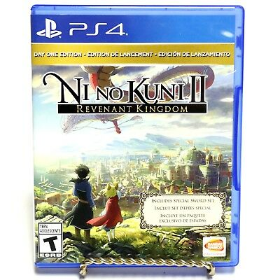Ni No Kuni II Revenant Kingdom Day One Edition Game for Sony Playstation 4 PS4