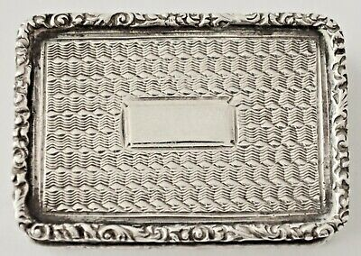 Antique Silver Vinaigrette      Taylor & Perry     1839