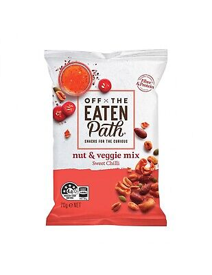 Off The Eaten Path Nuez y Vege Mix Chilli 70g x 9