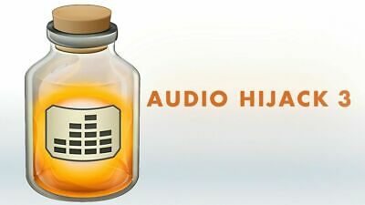 Audio Hijack 3 - capture and record audio for Mac *Instant Delivery* - Perpetual