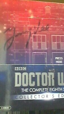 Doctor Who  The Complete Series 8 Eighth Collectors  Ltd. Ed.  SIGNED JIMMY VEE