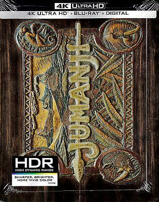 Jumanji [Includes Digital Copy] [SteelBook] [4K Ultra HD Blu-ray/Blu-ray]