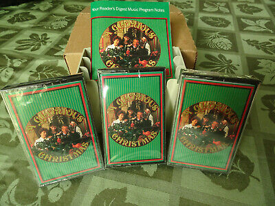A Glorious Christmas (3) Cassettes FACTORY-SEALED!